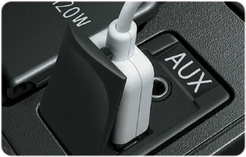 Cổng AUX, USB