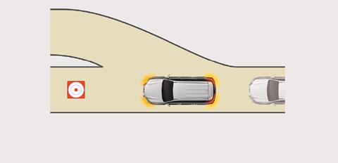 Tính năng nháy đèn khẩn cấp khi phanh gấp EBS